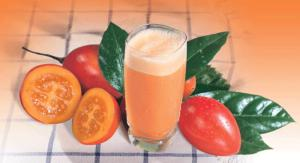 Suco de tomate de árbol