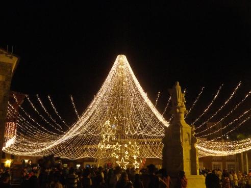 Natal em Cartagena de Indias. Foto própria.